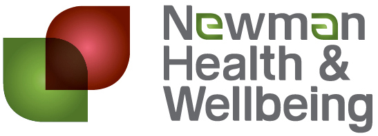 Newman Health and Wellbeing logo